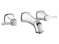 - 3 hole wall-mounted washbasin tap GRANDERA™ SIZE S | Wall-mounted washbasin tap - Grohe