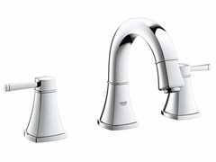 - 3 hole countertop washbasin tap with pop up waste GRANDERA™ SIZE S | Washbasin tap - Grohe