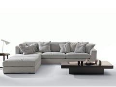 - Fabric sofa with chaise longue GRANMILANO | Sofa with chaise longue - Marac