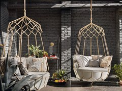 - Steel garden hanging chair GRAVITY | Garden hanging chair - Roberti Rattan