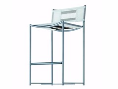 - Counter stool with footrest GREEN - 224_O - Alias