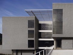 - Porcelain stoneware Panel for facade GREY CALM | Panel for facade - FMG Fabbrica Marmi e Graniti