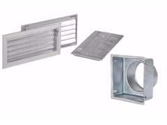 Griglia di ventilazione in alluminioGRIGLIA CON SERRANDA IN ALLUMINIO - DAKOTA GROUP