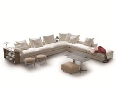- Corner sectional fabric sofa GROUNDPIECE | Sectional sofa - FLEXFORM