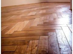 Parquet grezzo in legno masselloGUINEA | Parquet in Teak di recupero - ALMA BY GIORIO