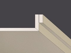 - Plasterboard slats with spacer strip GYPS LINEAR - Gyps
