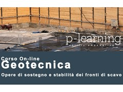 Geotecnica opere di sostegno e stabilità dei fronti di scavoGeotecnica opere di sostegno e stabilità - P-LEARNING