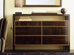 Cassettiera in legno con maniglie integrateH 1325   Cassettiera - ANNIBALE COLOMBO