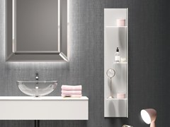 Mensola bagno in vetroH24 | Mensola bagno - Q'IN