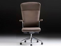 - Executive chair with 5-spoke base with armrests HALFPIPE | Executive chair with armrests - D.M.