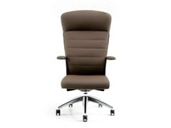 - Executive chair with 5-spoke base with armrests HALFPIPE | Executive chair with headrest - D.M.