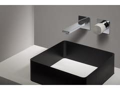 - Miscelatore incasso lavabo con comando in cemento HAPTIC | Miscelatore monocomando lavabo - RUBINETTERIE RITMONIO
