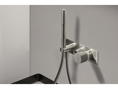 - Built-in shower mixer with handle made of concrete HAPTIC | Single lever bath mixer - RUBINETTERIE RITMONIO