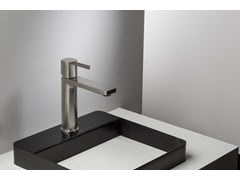 - Basin mixer with handle with lever HAPTIC | Single lever basin mixer - RUBINETTERIE RITMONIO
