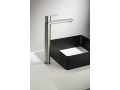- Exposed single lever basin mixer HAPTIC | Single lever basin mixer - RUBINETTERIE RITMONIO