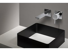 - Built-in single lever basin mixer with handle with lever HAPTIC | Single lever basin mixer - RUBINETTERIE RITMONIO