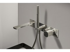 - Built-in bath mixer with handle without lever HAPTIC | Single lever bath mixer - RUBINETTERIE RITMONIO