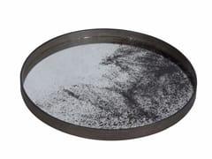 - Round tray HEAVY AGED MIRROR | Round tray - Notre Monde