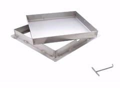 Sigillo a riempimento in acciaio inox pesanteSIGILLO INOX PESANTE - DAKOTA GROUP