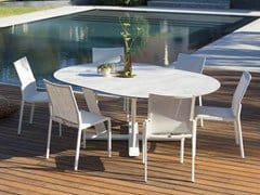 - Extending round HPL table HEGOA | Round table - Les jardins
