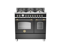 - Professional cooker HERITAGE - HER90 6 MFE D - Bertazzoni