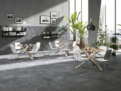 Pavimento/rivestimento in gres porcellanato effetto cementoHERITAGE - CERAMICHE BRENNERO