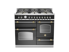 - Professional cooker HERITAGE - HER100 6 MFE T - Bertazzoni