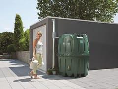 Sistema di recupero acqua piovana in plasticaSerbatoio HERKULES 1600 lt - OTTO GRAF