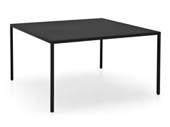 - Square metal table HERON | Square table - Calligaris