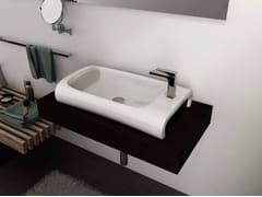 - Countertop rectangular washbasin HI-LINE | Ceramic washbasin - Hidra Ceramica