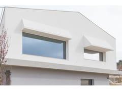 Porta-finestra a taglio termico con anta a scomparsa in alluminio e legnoHIDDEN NT - DCS GROUP