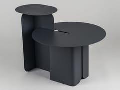 Tavolino in acciaioHIPHOP - CAR-MET