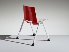 - Folding chair with casters HL³ | Chair with casters - LAMM