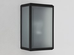 - Direct-indirect light stainless steel wall lamp HOMEFIELD FROSTED - Astro Lighting