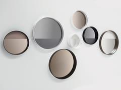 - Round wall-mounted framed mirror HORIZON LINEA - SOVET ITALIA
