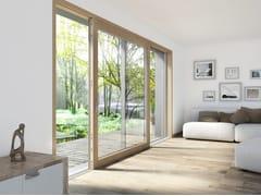 Finestra alzante scorrevole in alluminio e legnoHS330 | Finestra - INTERNORM ITALIA