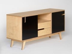 - Sideboard with sliding doors with drawers HUH   Sideboard with drawers - Radis