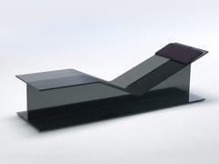 Chaise longue in cristalloI-BEAM | Chaise longue - GLAS ITALIA