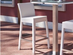 - Resin wicker counter stool IBIZA | Counter stool - Talenti