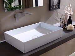 - Countertop rectangular ceramic washbasin ICON 60x40 - Alice Ceramica