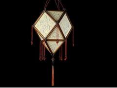 - Silk pendant lamp IMPERIALE - Fortuny® by Venetia Studium