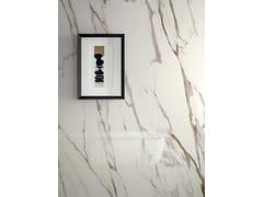 Pavimento/rivestimento in gres porcellanato effetto marmoINFINITO 2.0 CALACATTA GOLD - CERAMICA FONDOVALLE