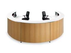Banco reception modulareINFORMA - ACTIU