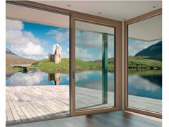 Porta-finestra in alluminio e legnoINNOVIEW - FAKRO