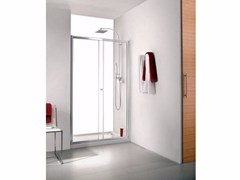 - Rectangular glass shower cabin INTER 8 - Systempool