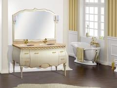 - Double vanity unit with mirror ISCHIA CM30DC - LA BUSSOLA