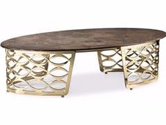 Tavolino ovale da salottoISIDORO | Tavolino ovale - CANTORI