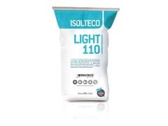 INTONACO SUPERLEGGERO PREMISCELATO TERMOISOLANTEISOLTECO LIGHT 110 - EDILTECO