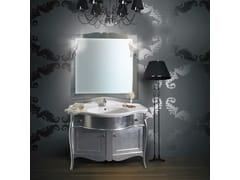 - Vanity unit with doors with drawers with mirror ITACA CM01CY - LA BUSSOLA