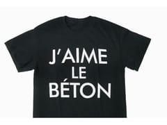 T-SHIRT IN COTONEJ'AIME LE BÉTON - ATELIERB
